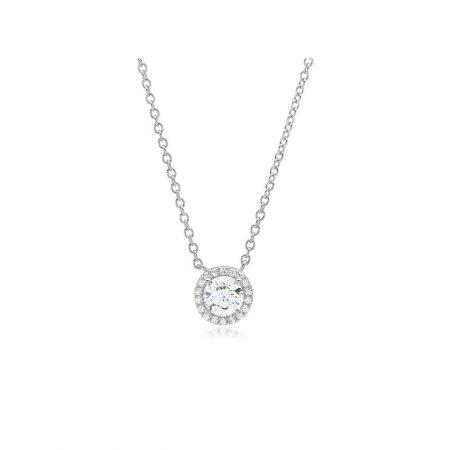 Adj.Evil Eye Lariat Necklace DiamondJewelryNY Silver Pendant