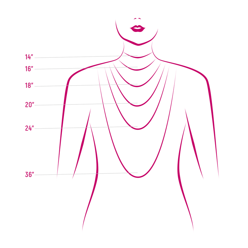 necklaces size chart