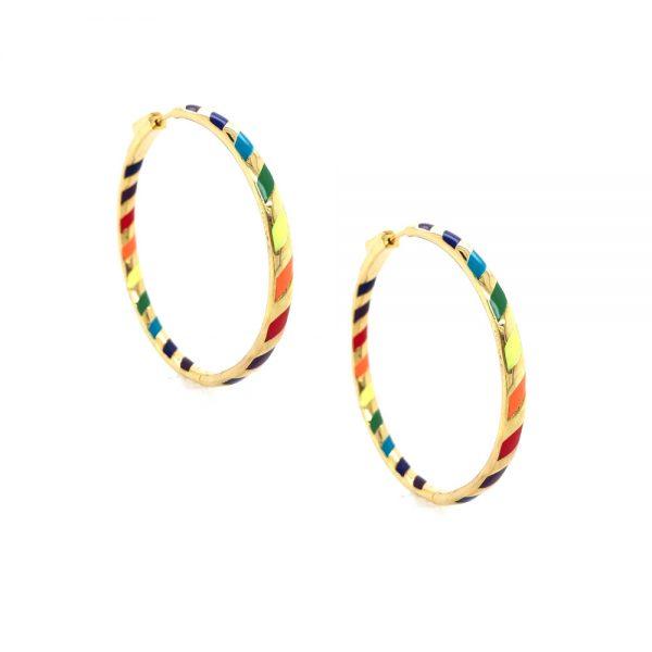 rainbowgoldhoop